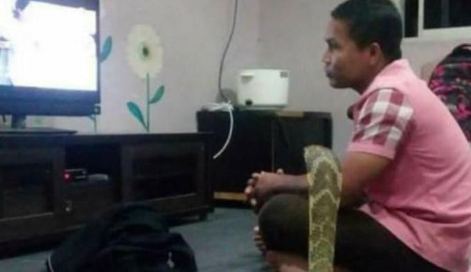 hombre-serpiente